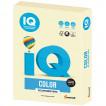 Бумага цветная для принтера IQ Color А4, 160 г/м2, 250 листов, ванильная, BE66