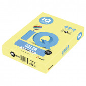 Бумага цветная для принтера IQ Color А4, 160 г/м2, 250 листов, лимонно-желтая, ZG34