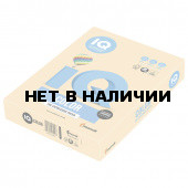 Бумага цветная для принтера IQ Color А4, 160 г/м2, 250 листов, золотистая, GO22