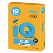 Бумага цветная для принтера IQ Color А4, 160 г/м2, 250 листов, старое золото AG10