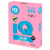 Бумага цветная для принтера IQ Color А3, 80 г/м2, 500 листов, розовая, PI25