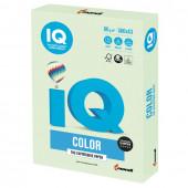 Бумага цветная для принтера IQ Color А3, 80 г/м2, 500 листов, светло-зеленая, GN27