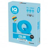 Бумага цветная для принтера IQ Color А3, 80 г/м2, 500 листов, голубой лед, OBL70