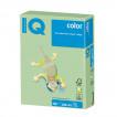 Бумага цветная для принтера IQ Color А3, 160 г/м2, 250 листов, зеленая, MG28