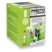 Фотобумага для струйной печати Cactus 10x15см, 230 г/м2, 500 листов, односторонняя глянцевая