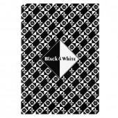 Папка для эскизов А4 Лилия Черный и белый 30 листов, 160 г/м2, 2 цвета ПЛ-0304