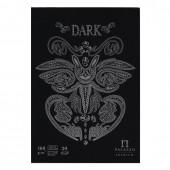 Папка для эскизов А4 Palazzo Dark 30 листов, 160 г/м2, черный ПЛ-2541
