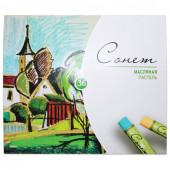 Пастель масляная художественная Сонет 36 цветов круглое сечение 7041157
