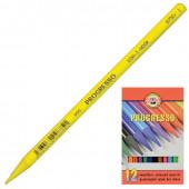 Карандаши цветные художественные KOH-I-NOOR Progresso 12 цветов 8756012007PZ