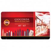Набор художественный KOH-I-NOOR Gioconda 39 предметов в коробке 8891000001PL