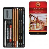 Набор художественный KOH-I-NOOR Gioconda 10 предметов в коробке 8890000001PL