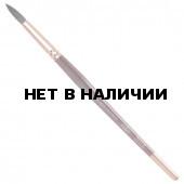 Кисть художественная KOH-I-NOOR белка, круглая, №14, короткая ручка 9935014017BL