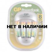 Зарядное устройство GP PB27 для 4-х аккумуляторов AA/ААА + 4 аккумулятора PB27GS270-2CR4 (454113)
