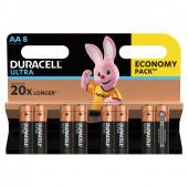 Батарейки алкалиновые Duracell Ultra Power LR06 (AA) 8 шт (454227)