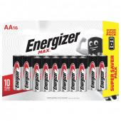 Батарейки алкалиновые Energizer Max LR06 (AA) 16 шт E301533101 (455106)