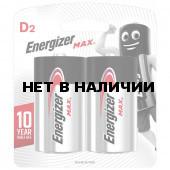 Батарейки алкалиновые Energizer Max LR20 (D) 2 шт E301533400 (454660)