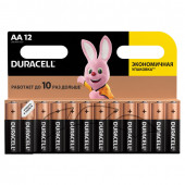 Батарейки алкалиновые Duracell Basic LR06 (AA) 12 шт (450432)