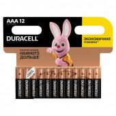 Батарейки алкалиновые Duracell Basic LR03 (AAA) 12 шт (451362)
