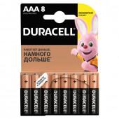 Батарейки алкалиновые Duracell Basic LR03 (AAA) 8 шт 81267262 (453558)