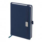 Ежедневник датированный 2021 А5 Brauberg Control с держателем для ручки 111472