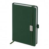 Ежедневник датированный 2021 А5 Brauberg Control с держателем для ручки 111474