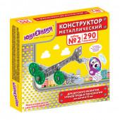 Конструктор металлический Юнландия Для уроков труда №2, 290 элементов 104680