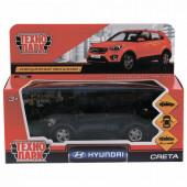 Машина инерционная Технопарк Hyundai Creta 12 см CRETA-BK, 259943