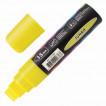 Маркер меловой Brauberg Pop-Art линия 15 мм желтый 151538