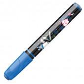 Маркер смываемый для любой поверхности Maped линия 2 мм голубой 743510