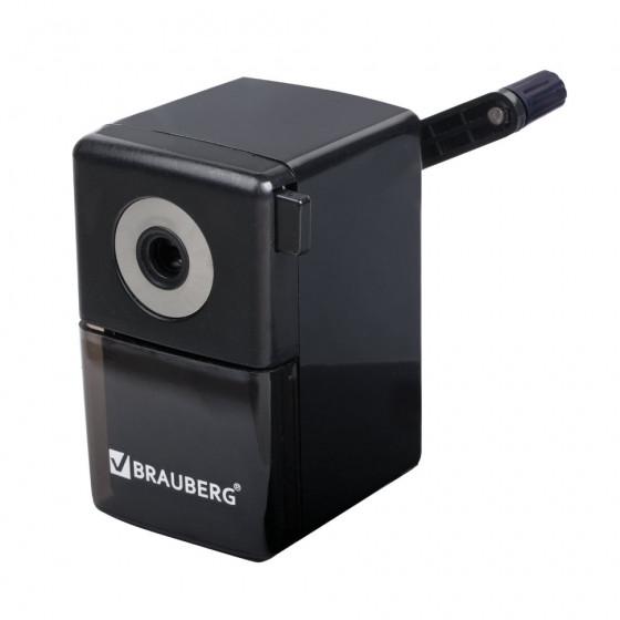 Точилка для карандашей механическая Brauberg Black Jack 222516