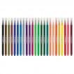 Фломастеры смываемые трехгранные Юнландия Зоопарк 24 цвета 151427