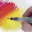 Ручка кисть Pentel Aquash Brush с резервуаром для воды XFRH/1-M