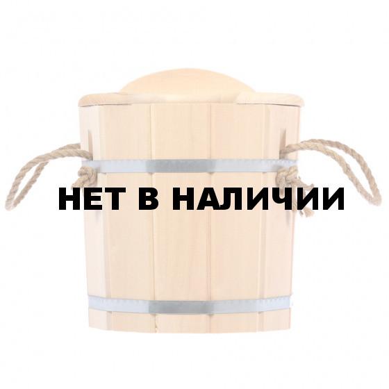 Запарник с крышкой Hot Pot липа 9 л 33223