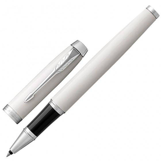 Ручка роллер Parker IM Core White Lacquer CT 1931674