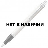 Ручка шариковая Parker IM Core White Lacquer CT 1931675