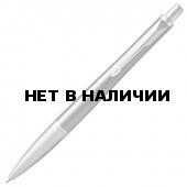 Ручка шариковая Parker Urban Premium Silvered Powder CT с гравировкой 1931578