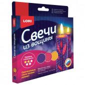 Набор для изготовления свечей из вощины Lori Нежность Лепестков Пз/С-008