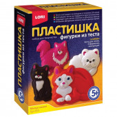 Набор для изготовления фигур из теста Пластишка Милые Кошки Тдл-023