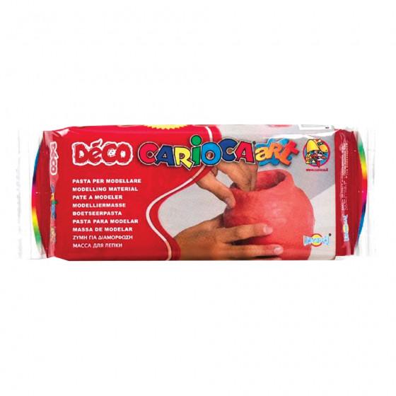 Паста (масса) для моделирования и лепки Carioca Deco терракотовая 500 г 30996/21