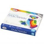Пластилин классический Гамма Классический 10 цветов 200 г со стеком 281032
