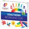 Пластилин классический Луч Классика 16 цветов 320 г со стеком 20С1329-08