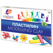 Пластилин классический Луч Классика 8 цветов 160 г со стеком 12С 867-08
