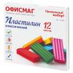 Пластилин классический Офисмаг 12 цветов 240 г со стеком 105724