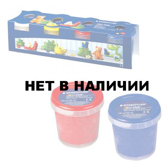 Тесто для лепки Staedtler 4 цвета 520 г 8134 01