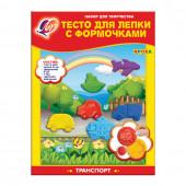 Тесто для лепки Луч Транспорт 6 цветов 360 г 26С 1625-08