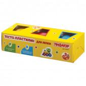 Тесто для лепки Пифагор 3 цвета 270 г 104437