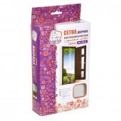 Противомоскитная сетка Help штора на дверь с крепежной лентой 2шт 80003-Л
