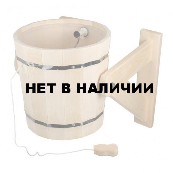 Обливное устройство для бани Банные Штучки Таежный с клапаном липа 18 л 31050