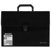 Папка портфель А4 для документов пластиковая Brauberg 13 отделений 221375