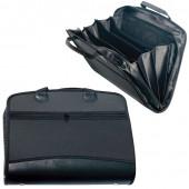 Папка портфель А4+ для документов пластиковая Brauberg 4 отделения 225169